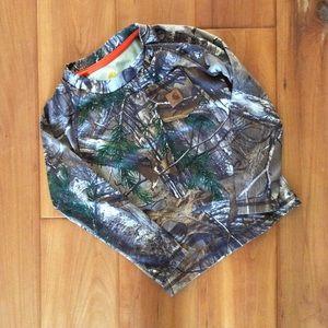 Carhartt Camouflage shirt size 2T